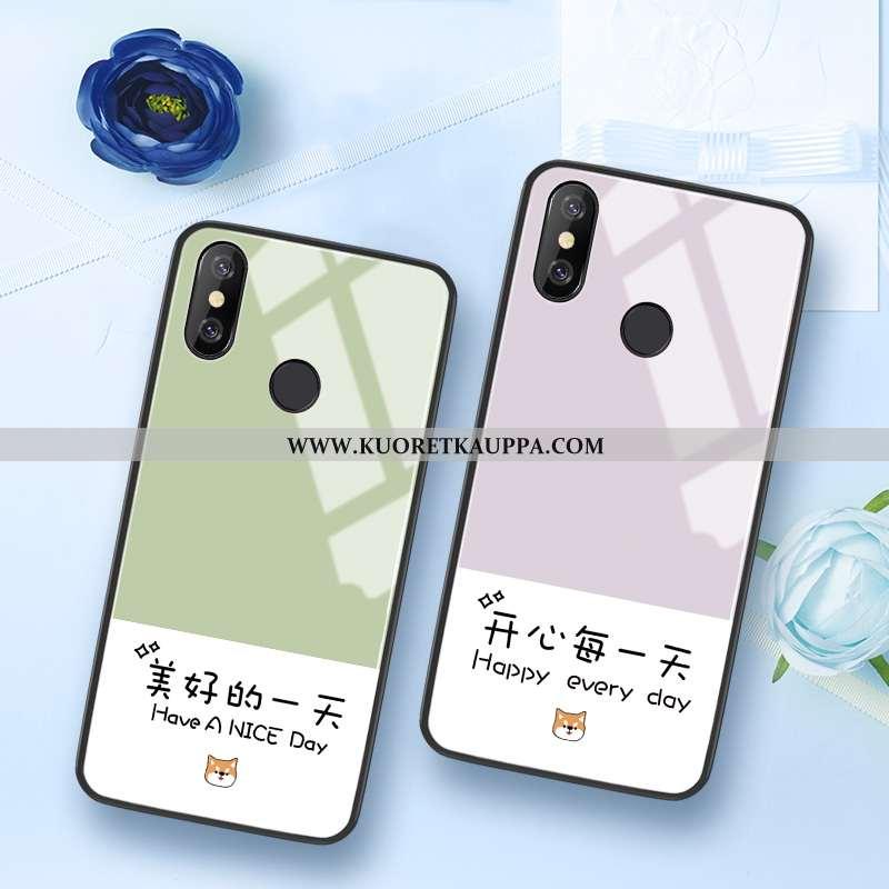 Kuori Xiaomi Mi 8, Kuoret Xiaomi Mi 8, Kotelo Xiaomi Mi 8 Luova Kukkakuvio Murtumaton Nuoret All Inc
