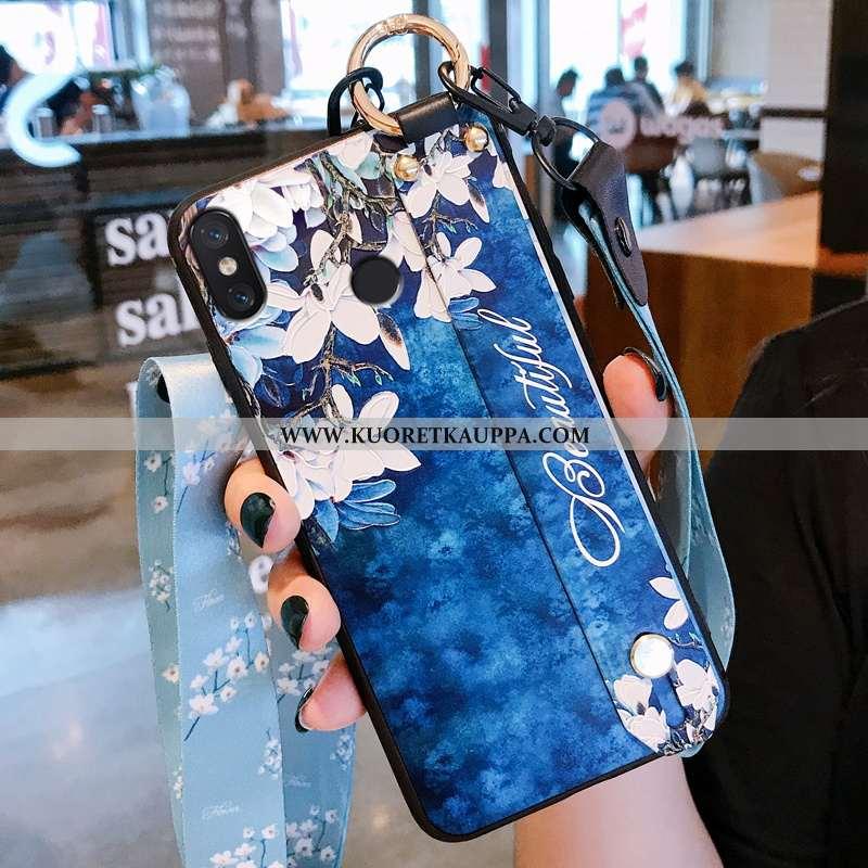 Kuori Xiaomi Mi 8, Kuoret Xiaomi Mi 8, Kotelo Xiaomi Mi 8 Silikoni Suojaus Yksinkertainen Tila Sinin