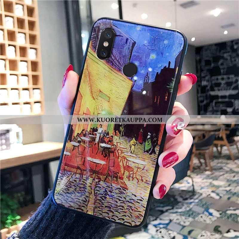 Kuori Xiaomi Mi 8, Kuoret Xiaomi Mi 8, Kotelo Xiaomi Mi 8 Suuntaus Pehmeä Neste Eurooppa Pieni Kelta