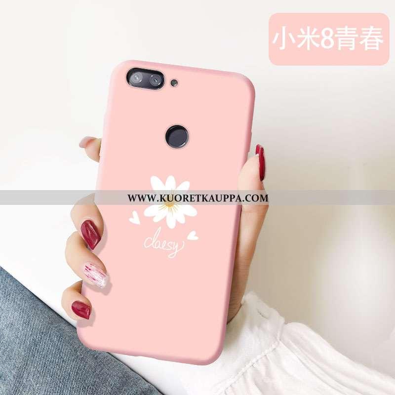 Kuori Xiaomi Mi 8 Lite, Kuoret Xiaomi Mi 8 Lite, Kotelo Xiaomi Mi 8 Lite Pehmeä Neste Valo Puhelimen