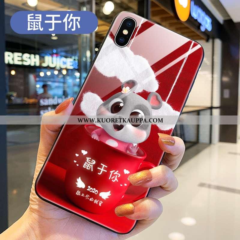 Kuori Xiaomi Mi 8 Pro, Kuoret Xiaomi Mi 8 Pro, Kotelo Xiaomi Mi 8 Pro Sarjakuva Ihana Läpinäkyvä Las