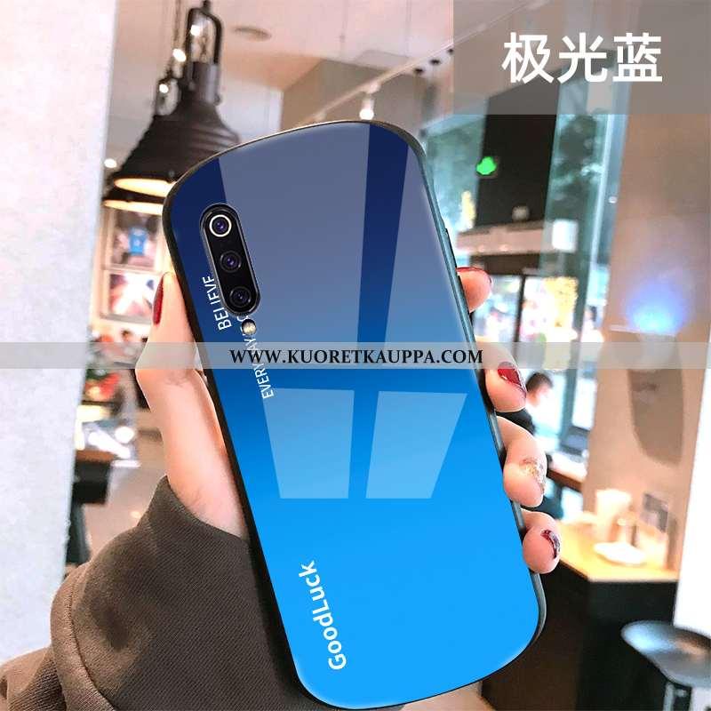 Kuori Xiaomi Mi 9, Kuoret Xiaomi Mi 9, Kotelo Xiaomi Mi 9 Tila Persoonallisuus Sininen Peili