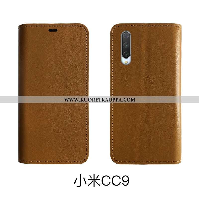 Kuori Xiaomi Mi 9 Lite, Kuoret Xiaomi Mi 9 Lite, Kotelo Xiaomi Mi 9 Lite Suojaus Nahkakuori Pieni Ai