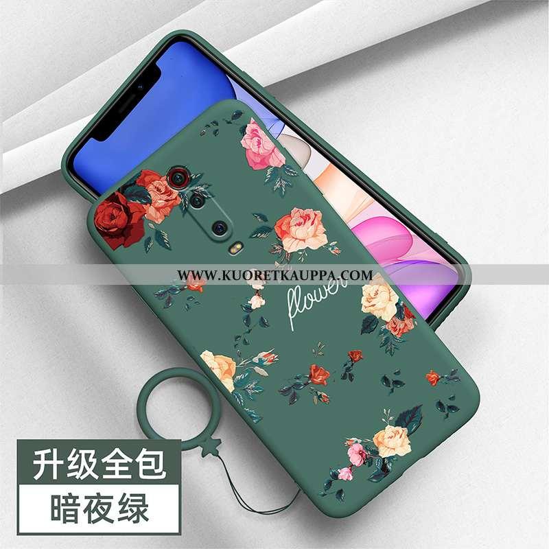 Kuori Xiaomi Mi 9t, Kuoret Xiaomi Mi 9t, Kotelo Xiaomi Mi 9t Persoonallisuus Luova Murtumaton Vihreä