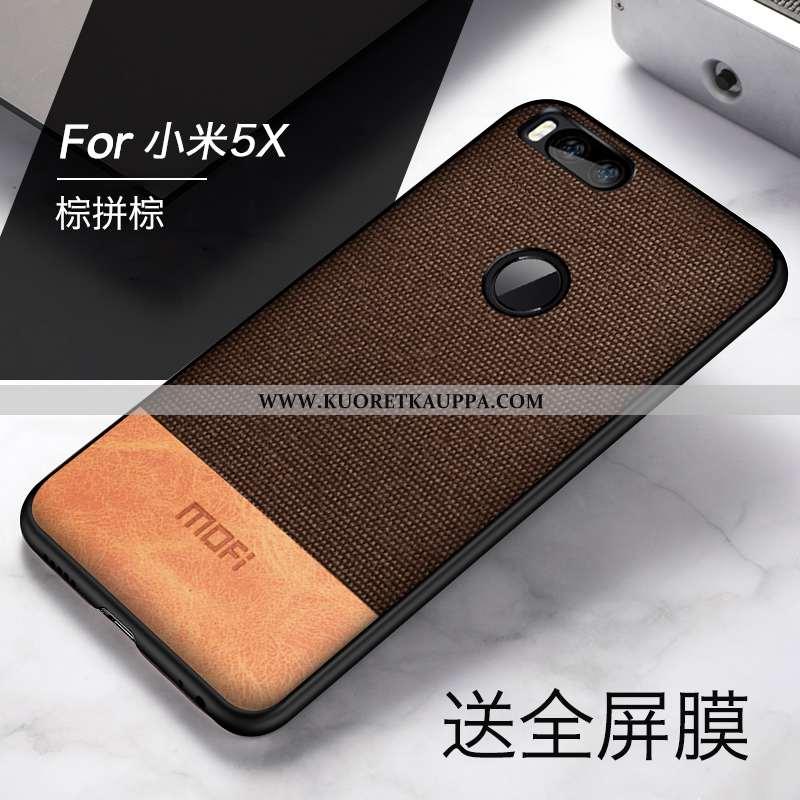 Kuori Xiaomi Mi A1, Kuoret Xiaomi Mi A1, Kotelo Xiaomi Mi A1 Pehmeä Neste Valo Pesty Suede Pieni Suo
