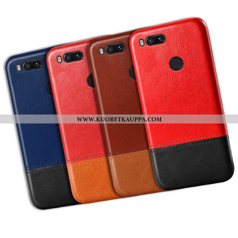 Kuori Xiaomi Mi A1, Kuoret Xiaomi Mi A1, Kotelo Xiaomi Mi A1 Suojaus Vuosikerta Murtumaton Punainen