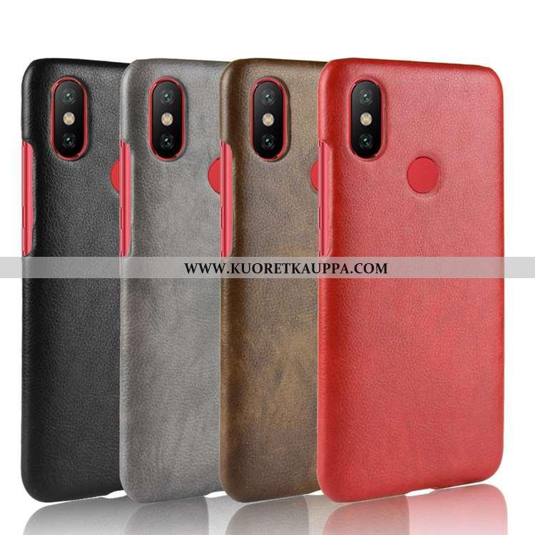 Kuori Xiaomi Mi A2, Kuoret Xiaomi Mi A2, Kotelo Xiaomi Mi A2 Kukkakuvio Nahkakuori Pieni Murtumaton
