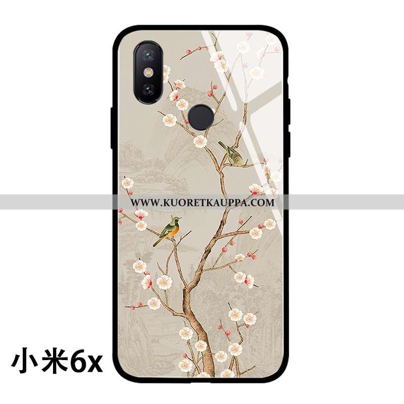 Kuori Xiaomi Mi A2, Kuoret Xiaomi Mi A2, Kotelo Xiaomi Mi A2 Lasi Persoonallisuus Kiinalainen Tyyli