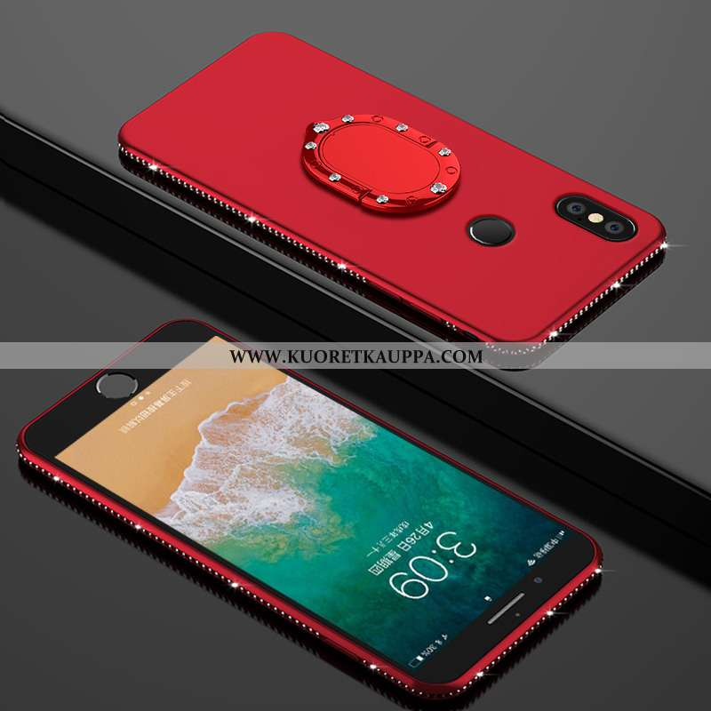 Kuori Xiaomi Mi A2, Kuoret Xiaomi Mi A2, Kotelo Xiaomi Mi A2 Suuntaus Suojaus Ylellisyys Luova Punai