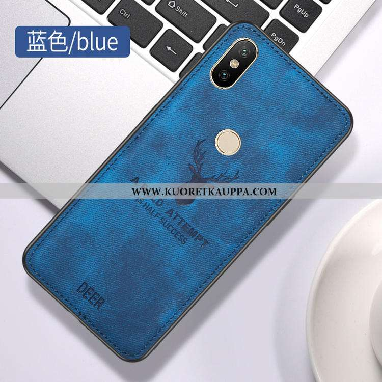 Kuori Xiaomi Mi A2 Lite, Kuoret Xiaomi Mi A2 Lite, Kotelo Xiaomi Mi A2 Lite Näytönsuojus Kukkakuvio