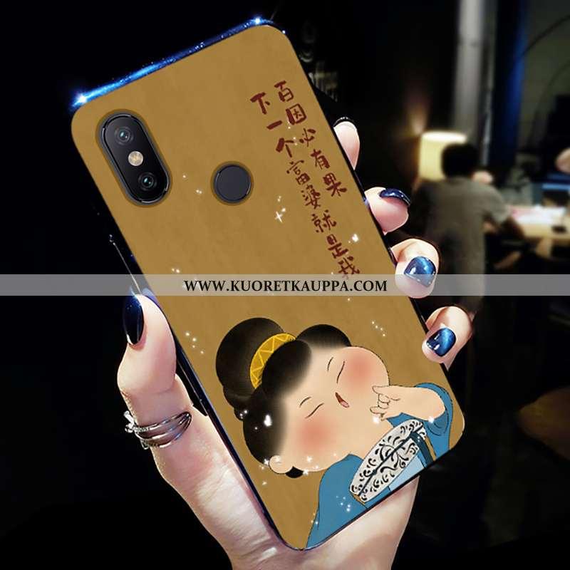 Kuori Xiaomi Mi A2 Lite, Kuoret Xiaomi Mi A2 Lite, Kotelo Xiaomi Mi A2 Lite Valo Silikoni Uusi Pehme