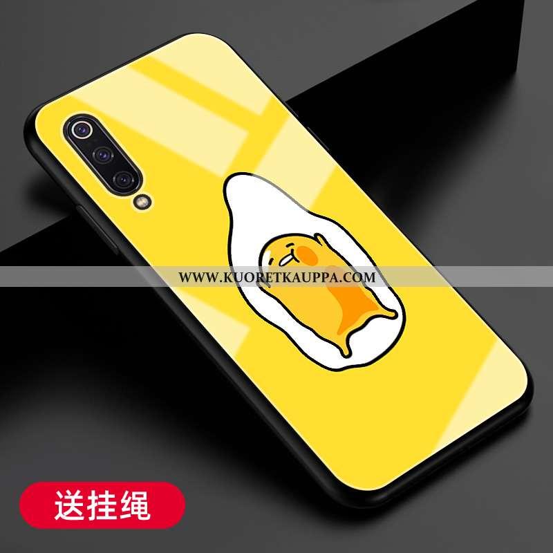 Kuori Xiaomi Mi A3, Kuoret Xiaomi Mi A3, Kotelo Xiaomi Mi A3 Silikoni Suojaus Kova Keltainen Pieni K
