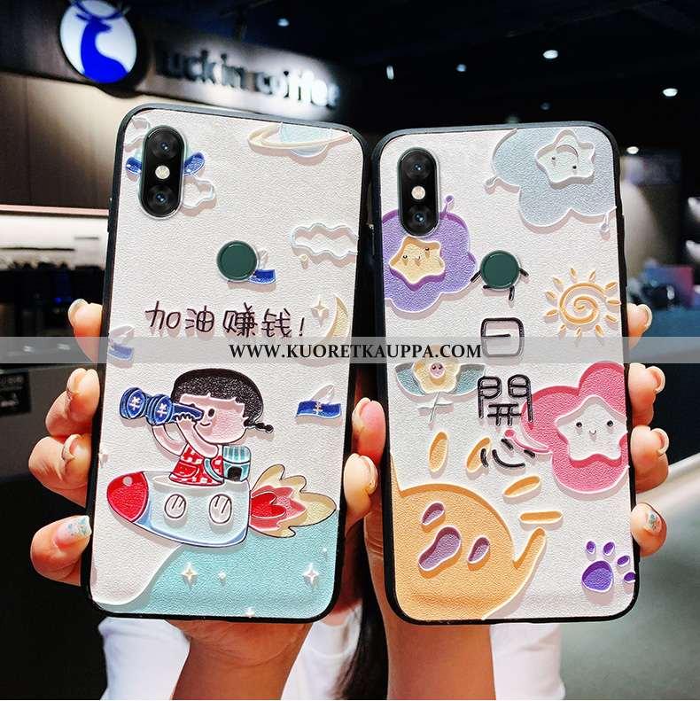 Kuori Xiaomi Mi Max 3, Kuoret Xiaomi Mi Max 3, Kotelo Xiaomi Mi Max 3 Kohokuviointi Ihana Mulberry S