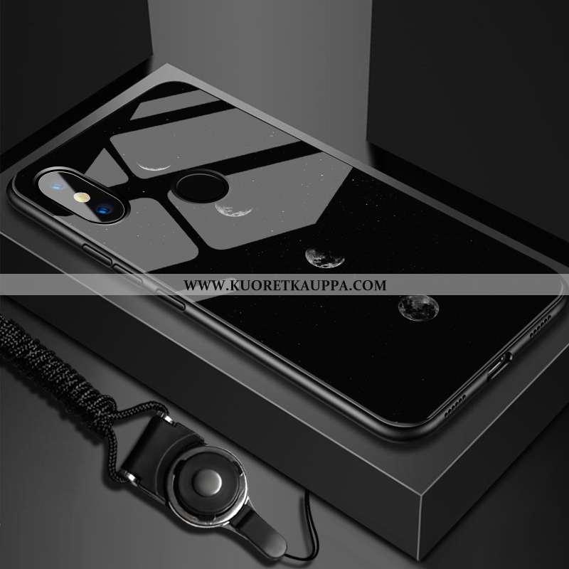 Kuori Xiaomi Mi Max 3, Kuoret Xiaomi Mi Max 3, Kotelo Xiaomi Mi Max 3 Luova Lasi Pieni Puhelimen Mus