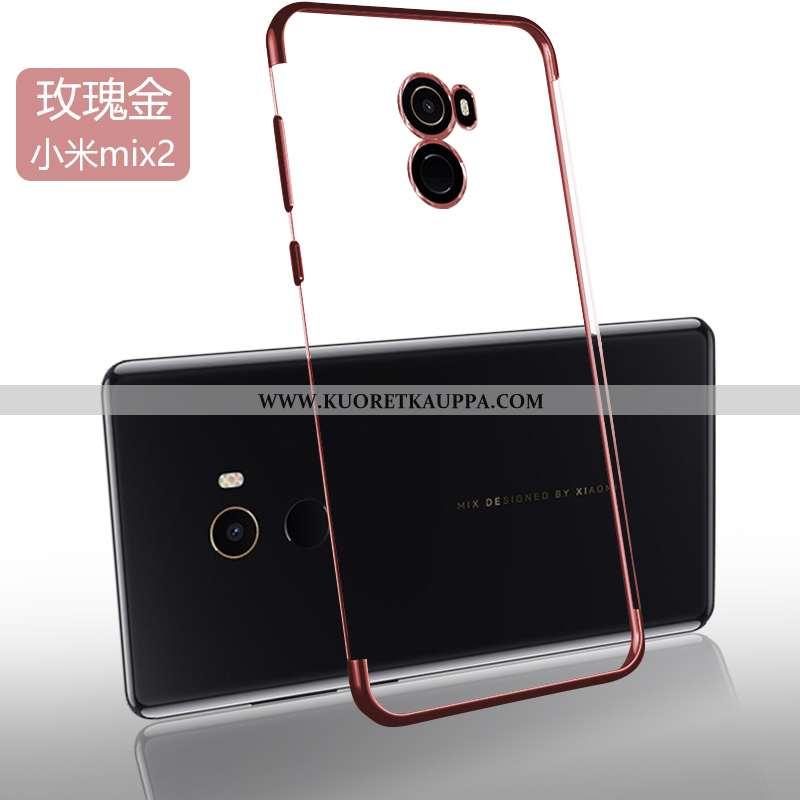 Kuori Xiaomi Mi Mix 2, Kuoret Xiaomi Mi Mix 2, Kotelo Xiaomi Mi Mix 2 Pehmeä Neste Valo Net Red Uusi
