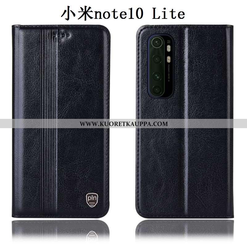 Kuori Xiaomi Mi Note 10 Lite, Kuoret Xiaomi Mi Note 10 Lite, Kotelo Xiaomi Mi Note 10 Lite Aito Nahk