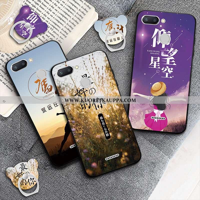 Kuori Xiaomi Redmi 6, Kuoret Xiaomi Redmi 6, Kotelo Xiaomi Redmi 6 Suojaus Murtumaton Violetti