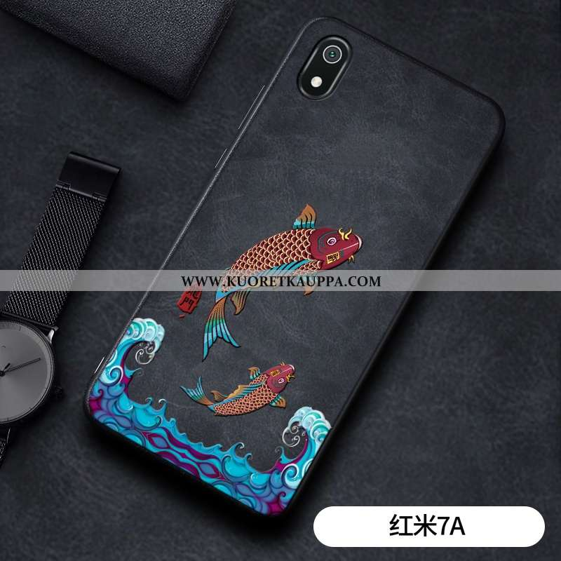 Kuori Xiaomi Redmi 7a, Kuoret Xiaomi Redmi 7a, Kotelo Xiaomi Redmi 7a Kukkakuvio Suuntaus Pesty Sued