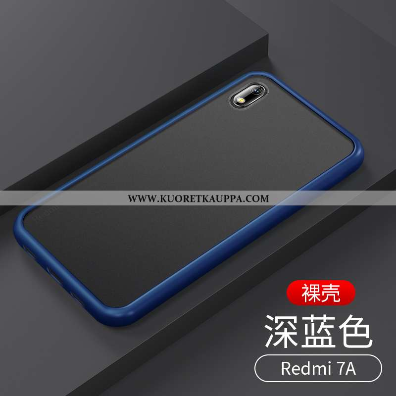 Kuori Xiaomi Redmi 7a, Kuoret Xiaomi Redmi 7a, Kotelo Xiaomi Redmi 7a Pesty Suede Suuntaus Läpinäkyv