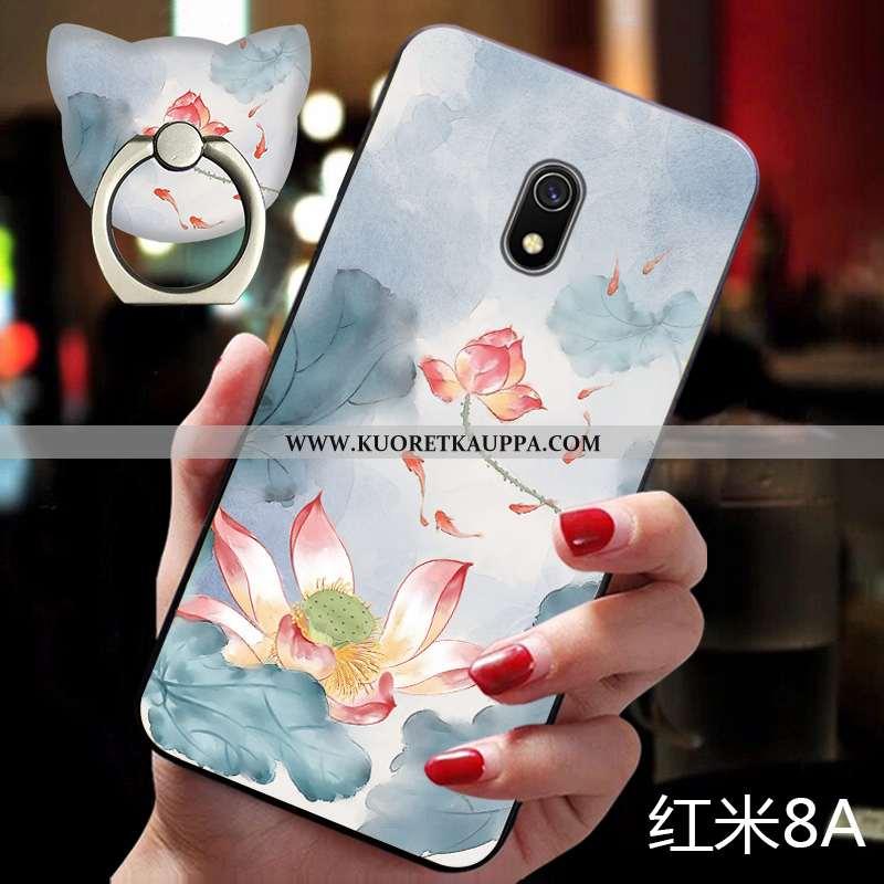 Kuori Xiaomi Redmi 8a, Kuoret Xiaomi Redmi 8a, Kotelo Xiaomi Redmi 8a Valo Silikoni Pieni Ultra Sini