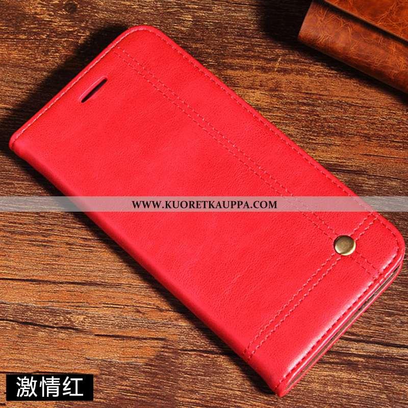 Kuori Xiaomi Redmi Note 7, Kuoret Xiaomi Redmi Note 7, Kotelo Xiaomi Redmi Note 7 Suojaus Nahkakuori