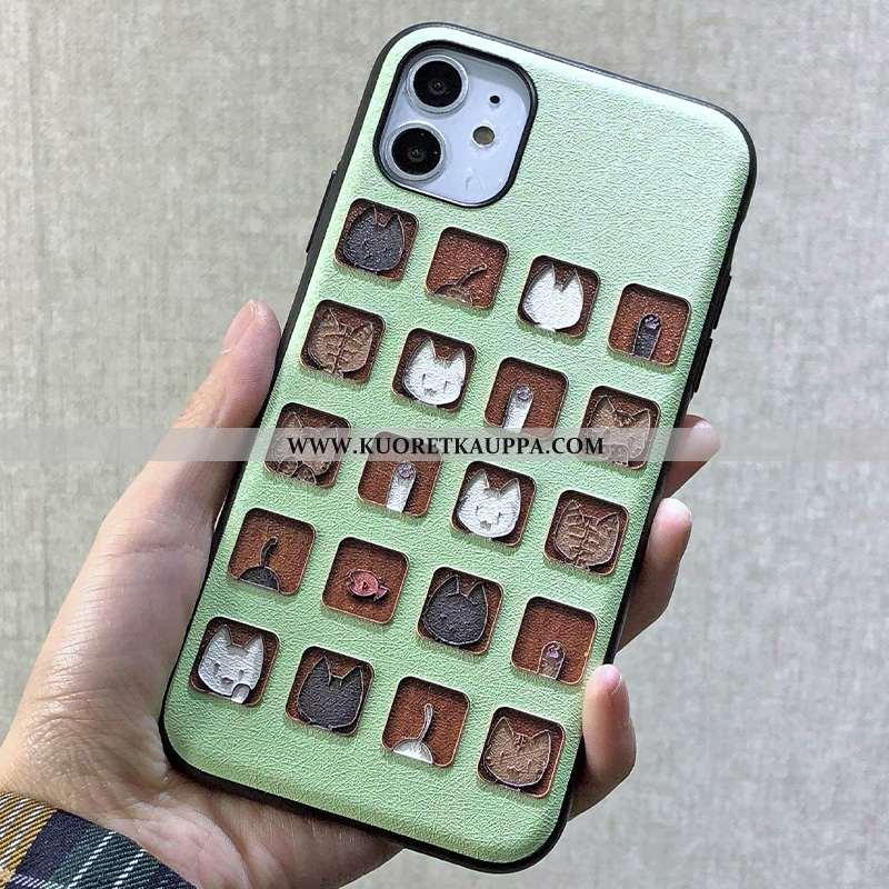 Kuori iPhone 11, Kuoret iPhone 11, Kotelo iPhone 11 Luova Kohokuviointi Ripustettavat Koristeet Puhe
