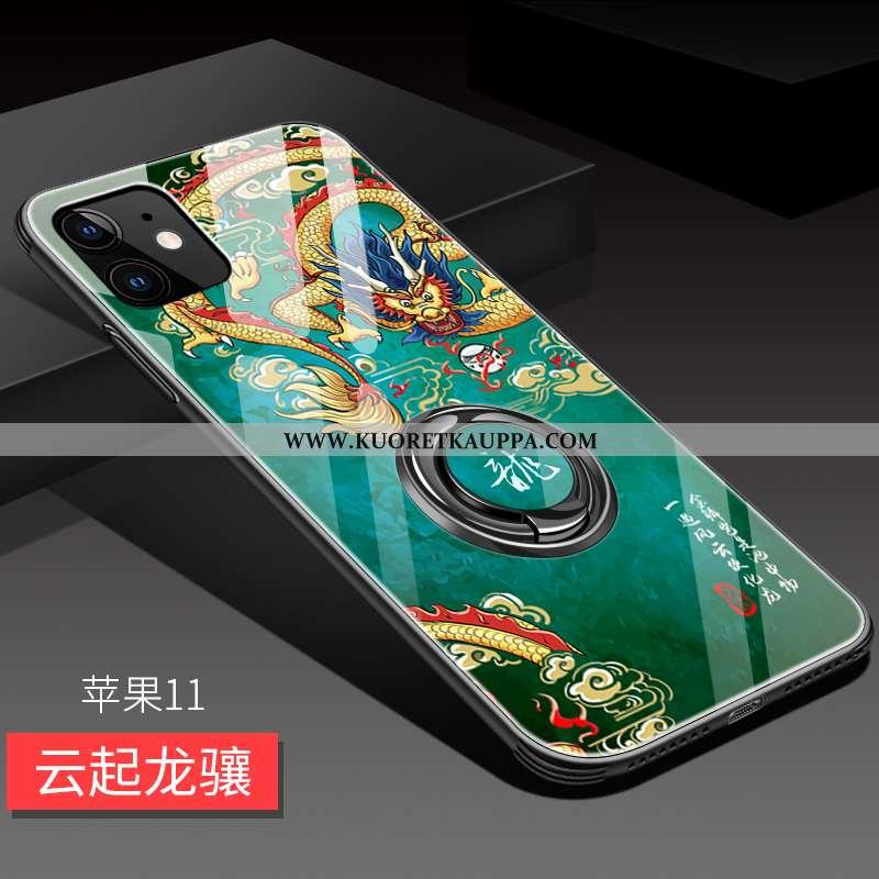 Kuori iPhone 11, Kuoret iPhone 11, Kotelo iPhone 11 Suojaus Lasi Luova Pehmeä Neste All Inclusive Vi