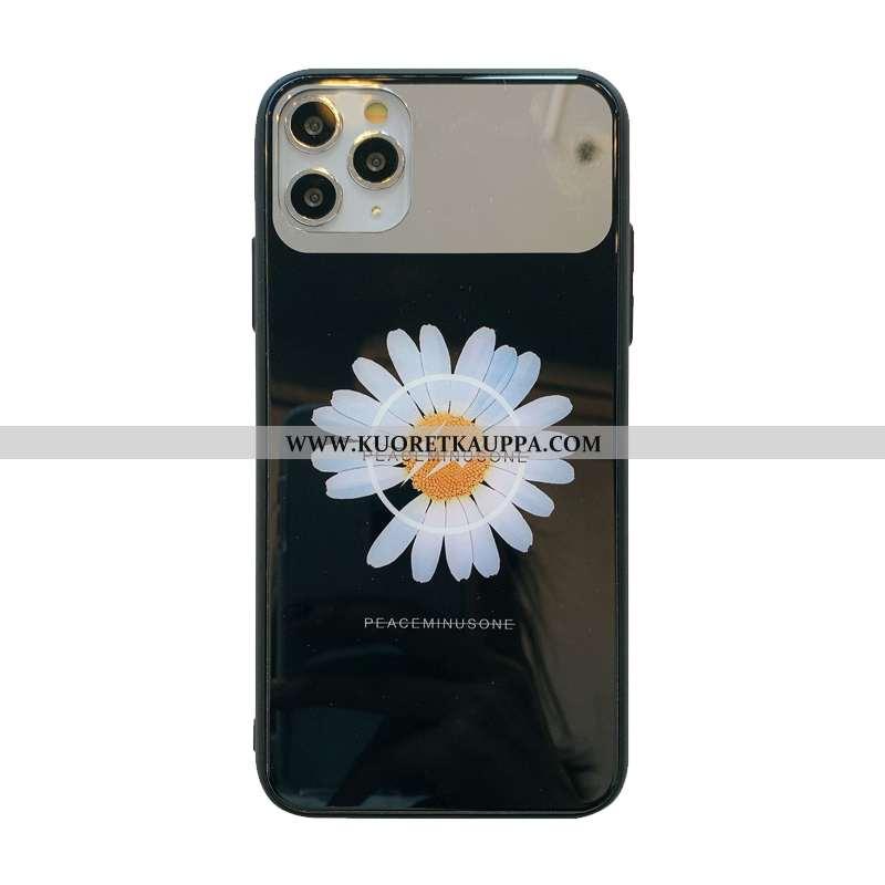 Kuori iPhone 11 Pro, Kuoret iPhone 11 Pro, Kotelo iPhone 11 Pro Lasi Rakastunut Puhelimen Kova Musta