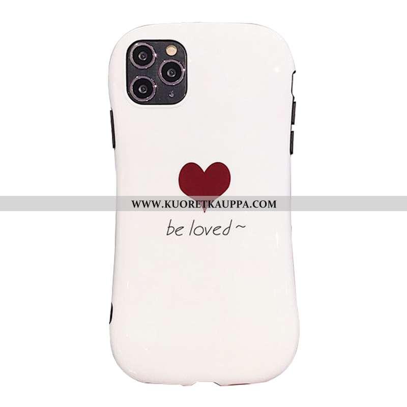 Kuori iPhone 11 Pro, Kuoret iPhone 11 Pro, Kotelo iPhone 11 Pro Pehmeä Neste Silikoni Puhelimen Valk