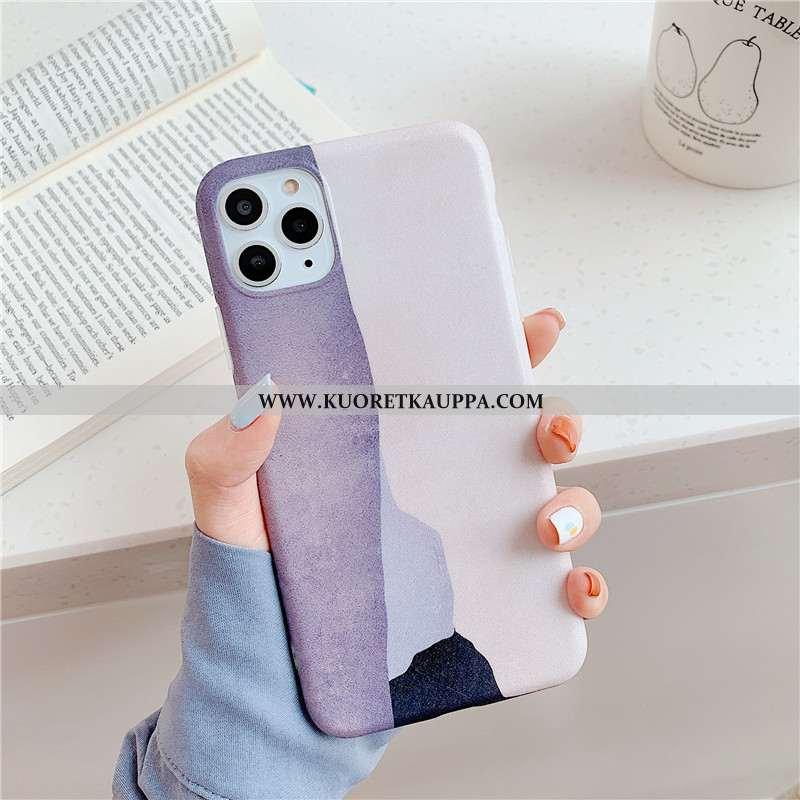 Kuori iPhone 11 Pro, Kuoret iPhone 11 Pro, Kotelo iPhone 11 Pro Silikoni Persoonallisuus Violetti Pu