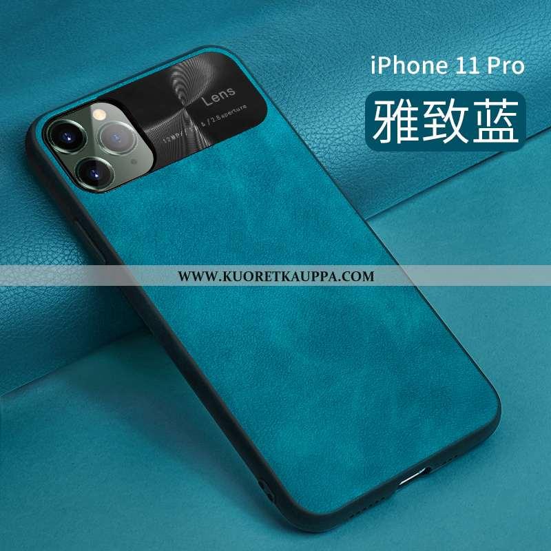 Kuori iPhone 11 Pro, Kuoret iPhone 11 Pro, Kotelo iPhone 11 Pro Ultra Valo Suuntaus Silikoni Nahka S