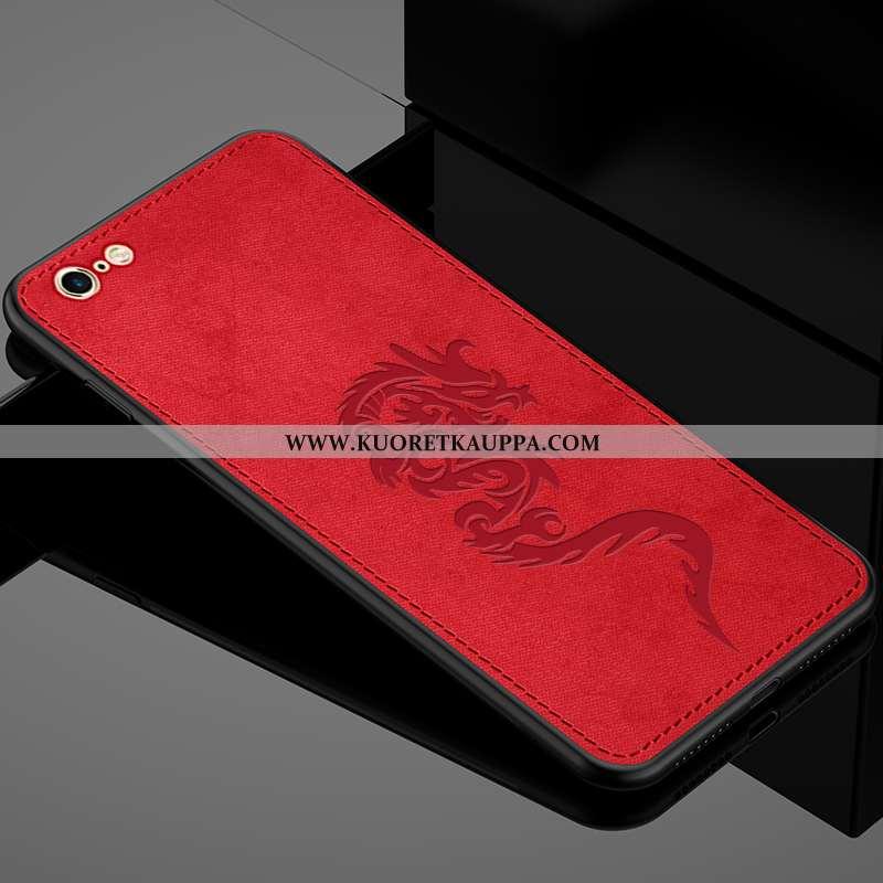 Kuori iPhone 6/6s, Kuoret iPhone 6/6s, Kotelo iPhone 6/6s Kukkakuvio Ultra Suojaus Luova Punainen
