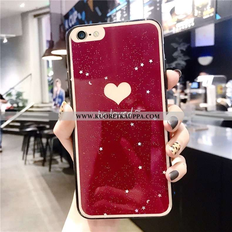 Kuori iPhone 6/6s, Kuoret iPhone 6/6s, Kotelo iPhone 6/6s Luova Suojaus Punainen Persoonallisuus