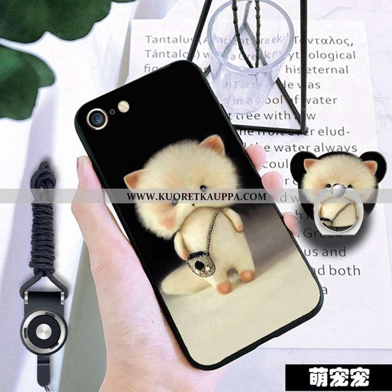 Kuori iPhone 6/6s, Kuoret iPhone 6/6s, Kotelo iPhone 6/6s Pehmeä Neste Suojaus Murtumaton Musta Must