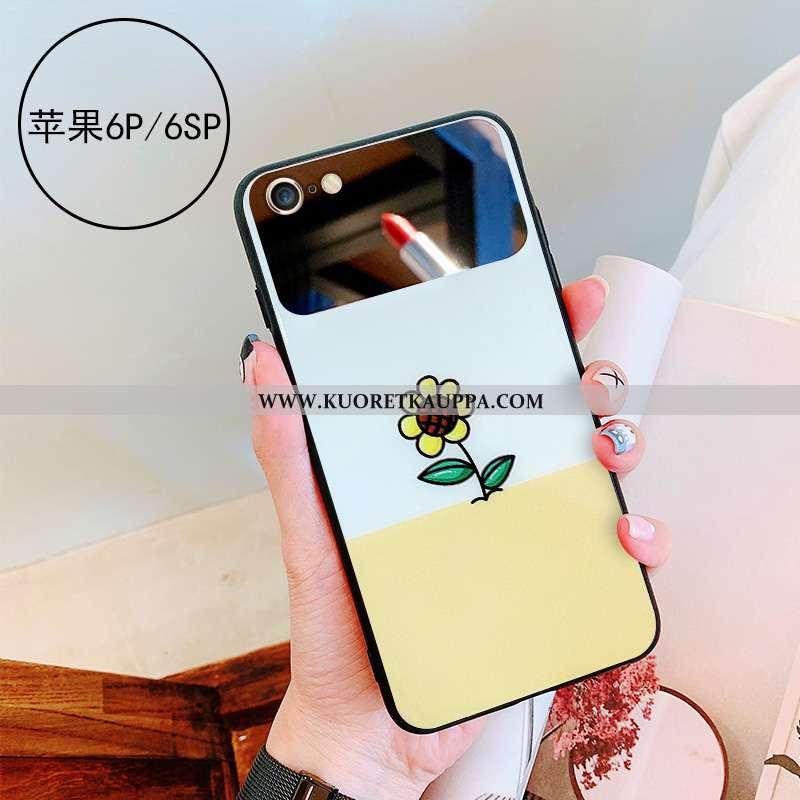 Kuori iPhone 6/6s Plus, Kuoret iPhone 6/6s Plus, Kotelo iPhone 6/6s Plus Lasi Persoonallisuus Peili