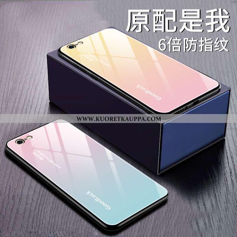 Kuori iPhone 6/6s Plus, Kuoret iPhone 6/6s Plus, Kotelo iPhone 6/6s Plus Lasi Suojaus Puhelimen Pink