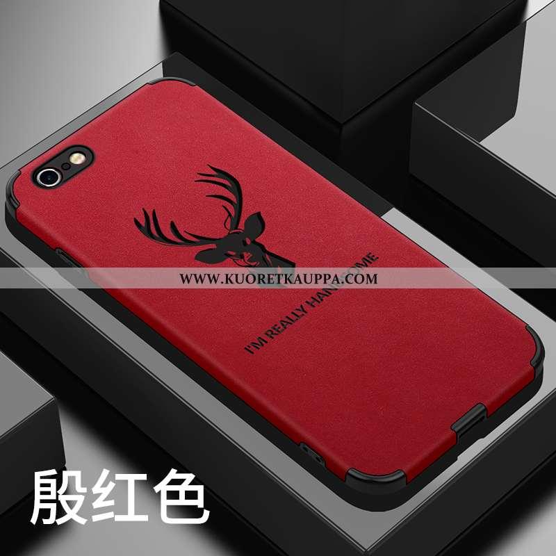 Kuori iPhone 6/6s Plus, Kuoret iPhone 6/6s Plus, Kotelo iPhone 6/6s Plus Pesty Suede Persoonallisuus
