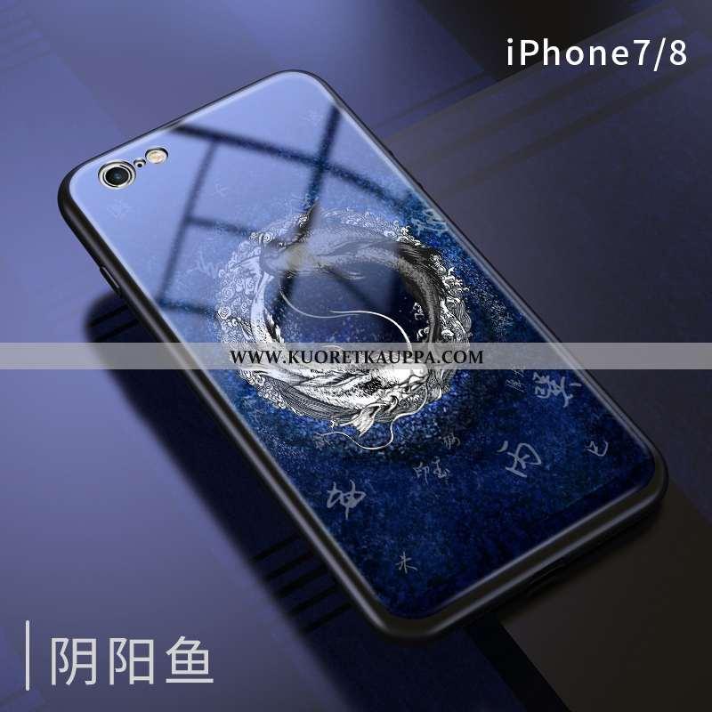 Kuori iPhone 7, Kuoret iPhone 7, Kotelo iPhone 7 Luova Persoonallisuus All Inclusive Tummansininen T