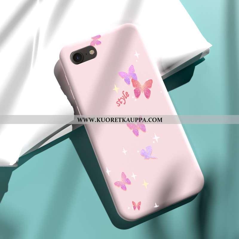 Kuori iPhone 7, Kuoret iPhone 7, Kotelo iPhone 7 Pehmeä Neste Suuntaus Jauhe Net Red Pinkki
