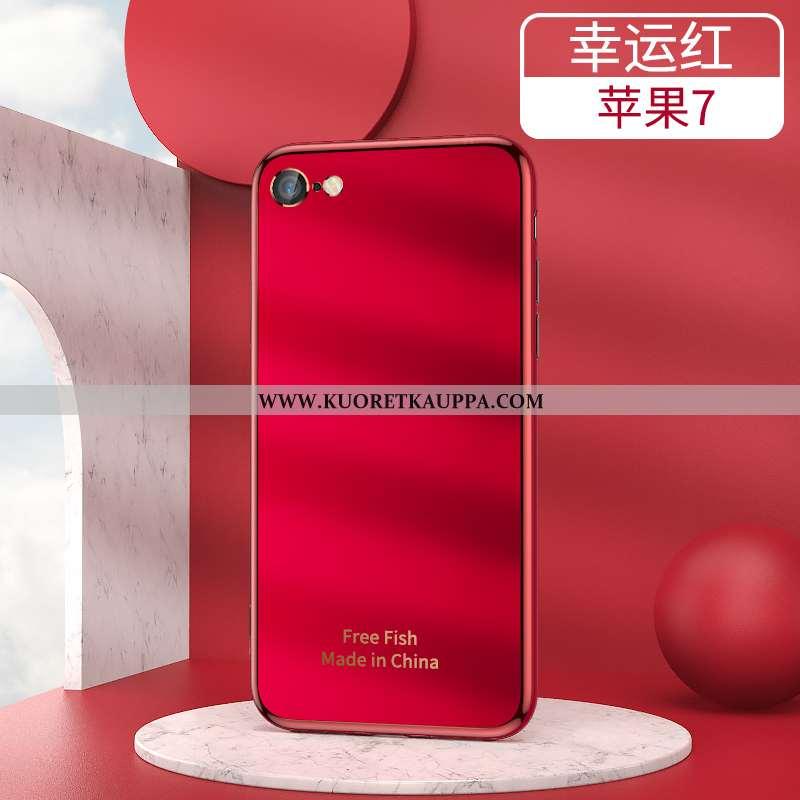 Kuori iPhone 7, Kuoret iPhone 7, Kotelo iPhone 7 Persoonallisuus Luova Kova Vaalean Puhelimen Punain