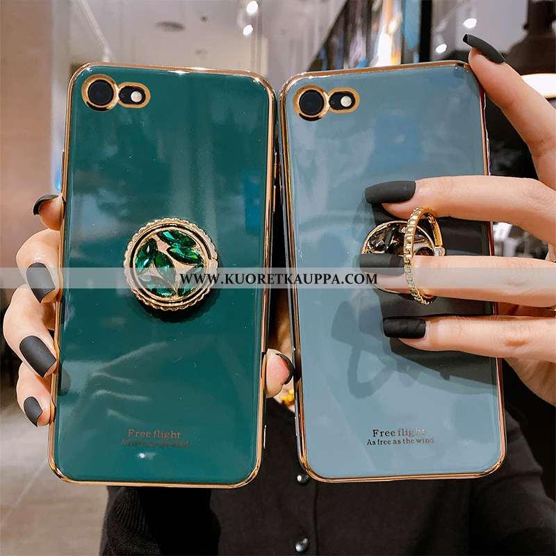 Kuori iPhone 7, Kuoret iPhone 7, Kotelo iPhone 7 Silikoni Suuntaus Murtumaton All Inclusive Sininen