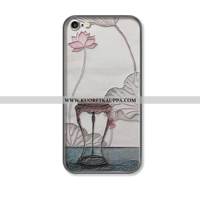 Kuori iPhone 7, Kuoret iPhone 7, Kotelo iPhone 7 Suojaus Ripustettavat Koristeet Murtumaton Kukka Ha