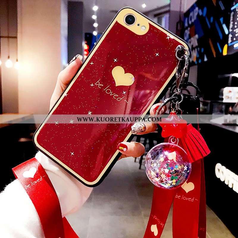 Kuori iPhone 7, Kuoret iPhone 7, Kotelo iPhone 7 Suuntaus Luova Puhelimen Murtumaton Punainen