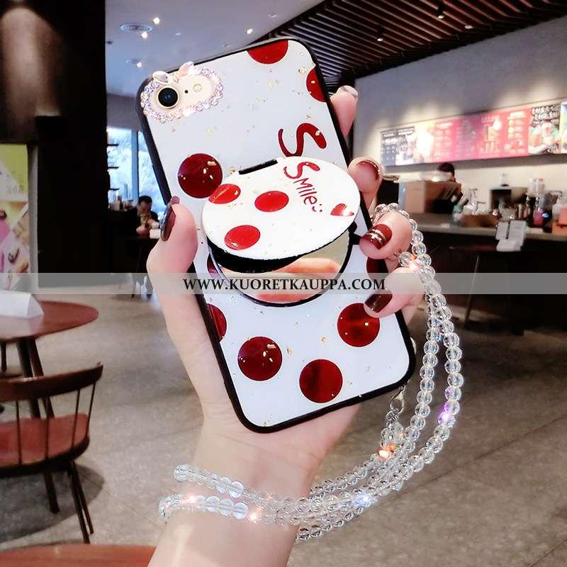 Kuori iPhone 7, Kuoret iPhone 7, Kotelo iPhone 7 Tila Persoonallisuus Silikoni Net Red Punainen