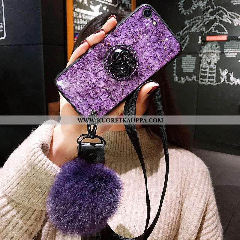 Kuori iPhone 7, Kuoret iPhone 7, Kotelo iPhone 7 Ultra Pehmeä Neste Silikoni Murtumaton Violetti