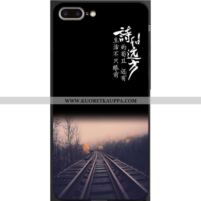 Kuori iPhone 7 Plus, Kuoret iPhone 7 Plus, Kotelo iPhone 7 Plus Luova Persoonallisuus Hemming Musta