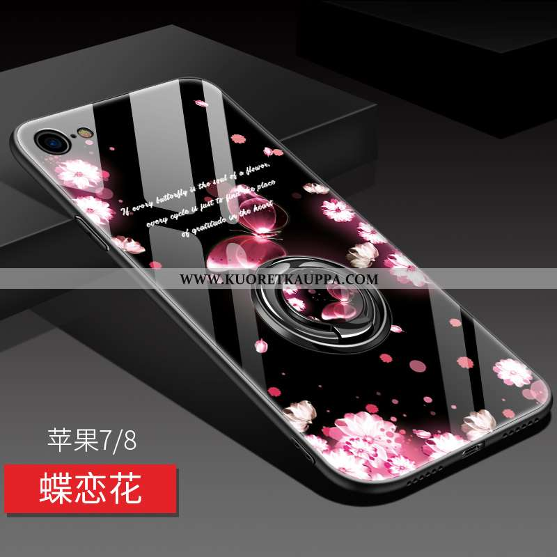 Kuori iPhone 8, Kuoret iPhone 8, Kotelo iPhone 8 Pehmeä Neste Silikoni Murtumaton Peili Puhelimen Pi