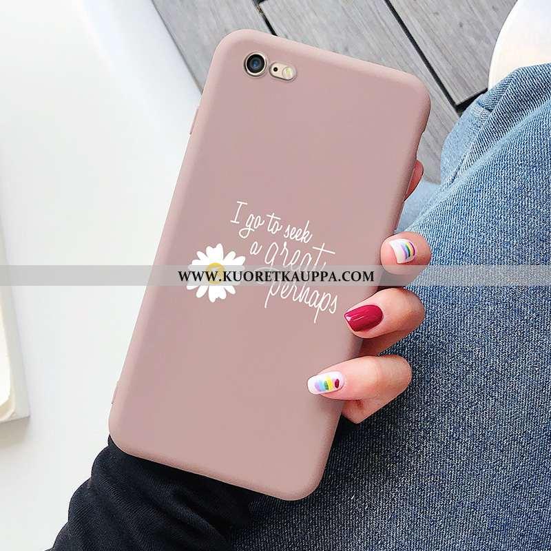 Kuori iPhone 8, Kuoret iPhone 8, Kotelo iPhone 8 Pehmeä Neste Valo Murtumaton Persoonallisuus Pinkki