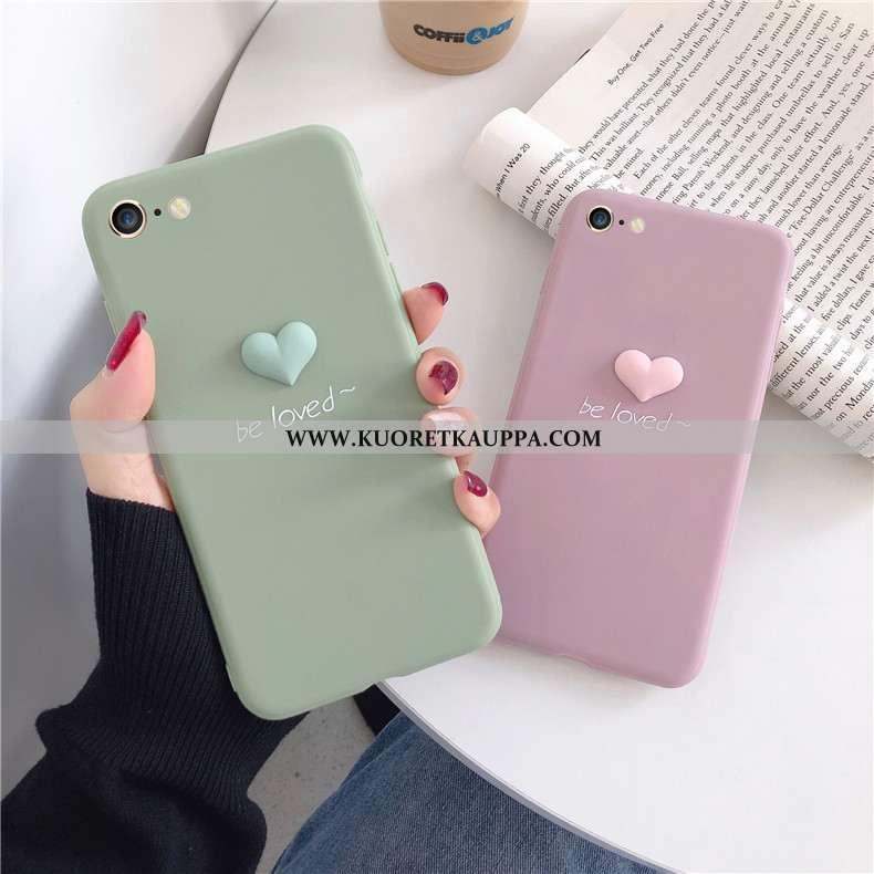 Kuori iPhone 8, Kuoret iPhone 8, Kotelo iPhone 8 Tila Pehmeä Neste Murtumaton Jauhe Suojaus Pinkki