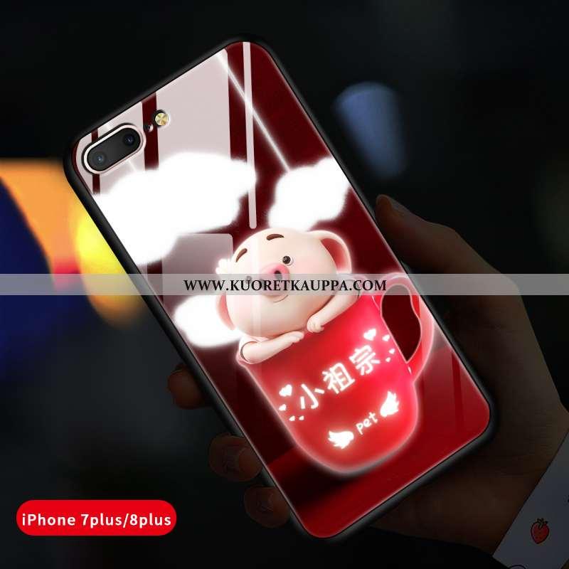 Kuori iPhone 8 Plus, Kuoret iPhone 8 Plus, Kotelo iPhone 8 Plus Lasi Persoonallisuus All Inclusive L